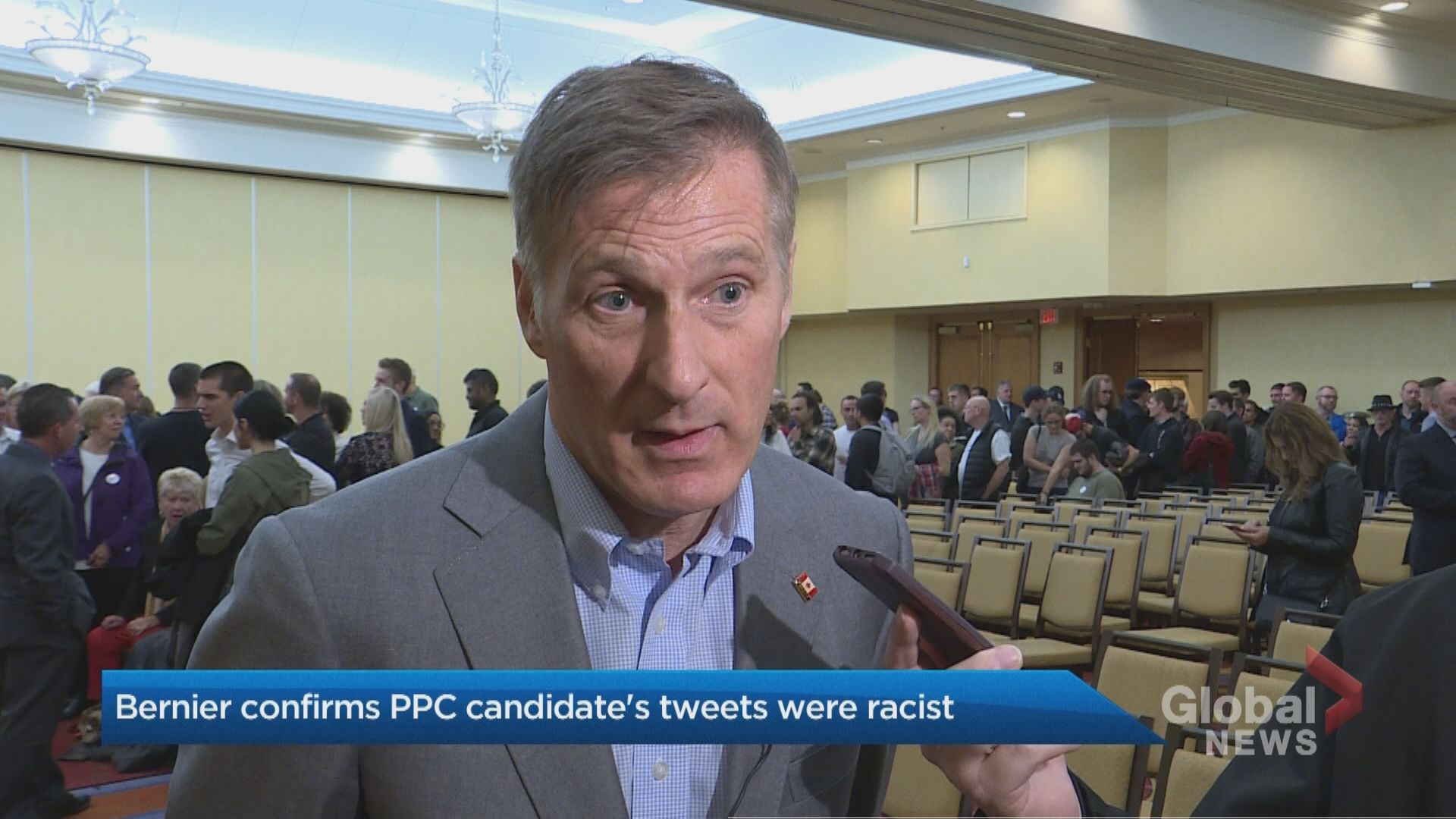 'Absolutely, yes:' Bernier confirms Nova Scotia PPC candidate's tweets were racist