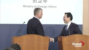 U.S. envoy to North Korea: 'We're here, you know how to reach us' (01:20)