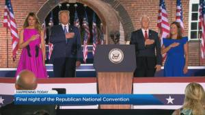RNC wrap: The final night of Republican National Convention