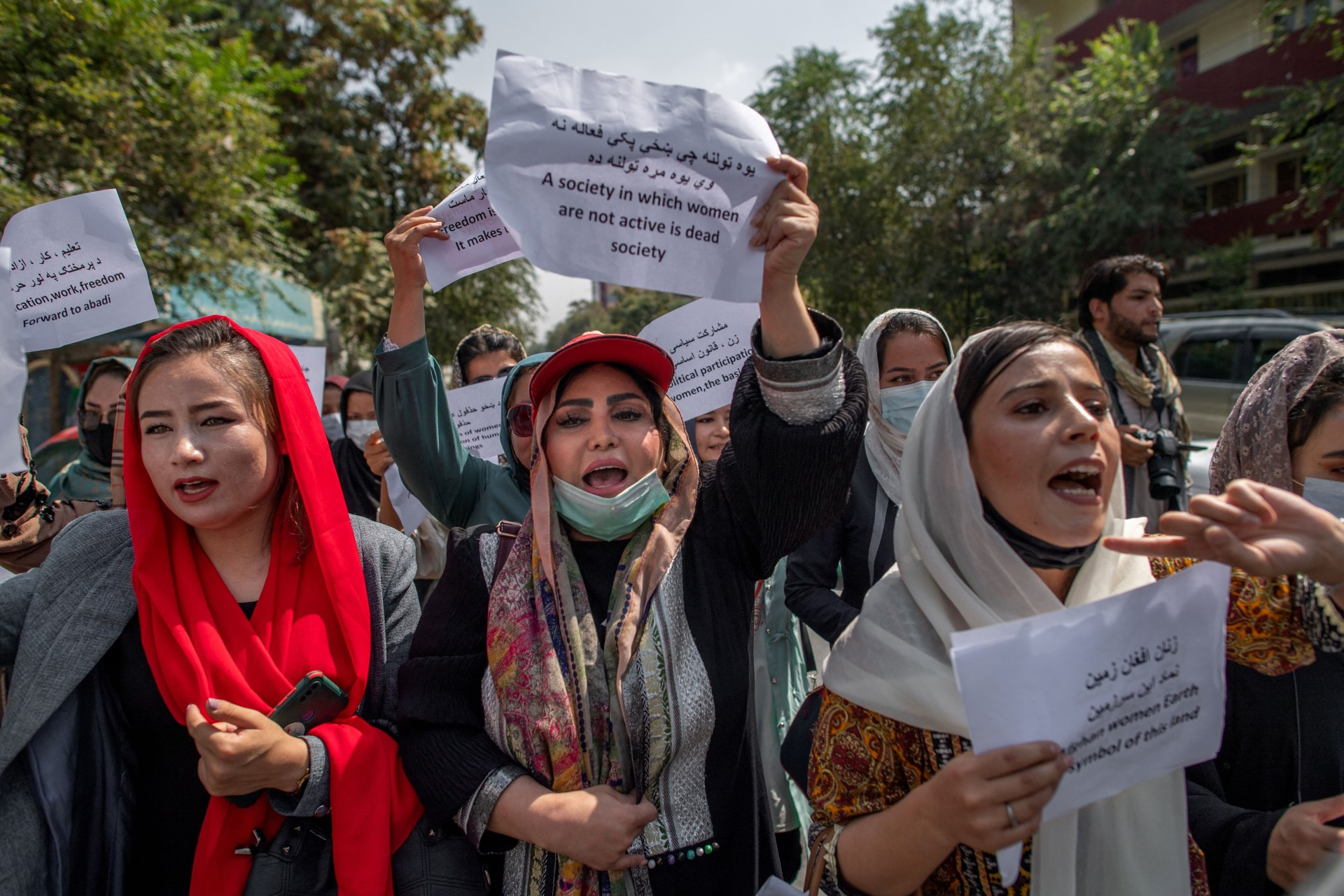 Afghanistan minister won't commit to girls' schooling despite international demand