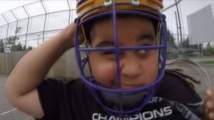 Coquitlam minor lacrosse player needs custom helmet (02:01)