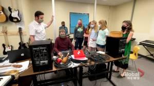 Petitcodiac Regional School music teacher helps students produce a COVID-19 music CD (02:03)