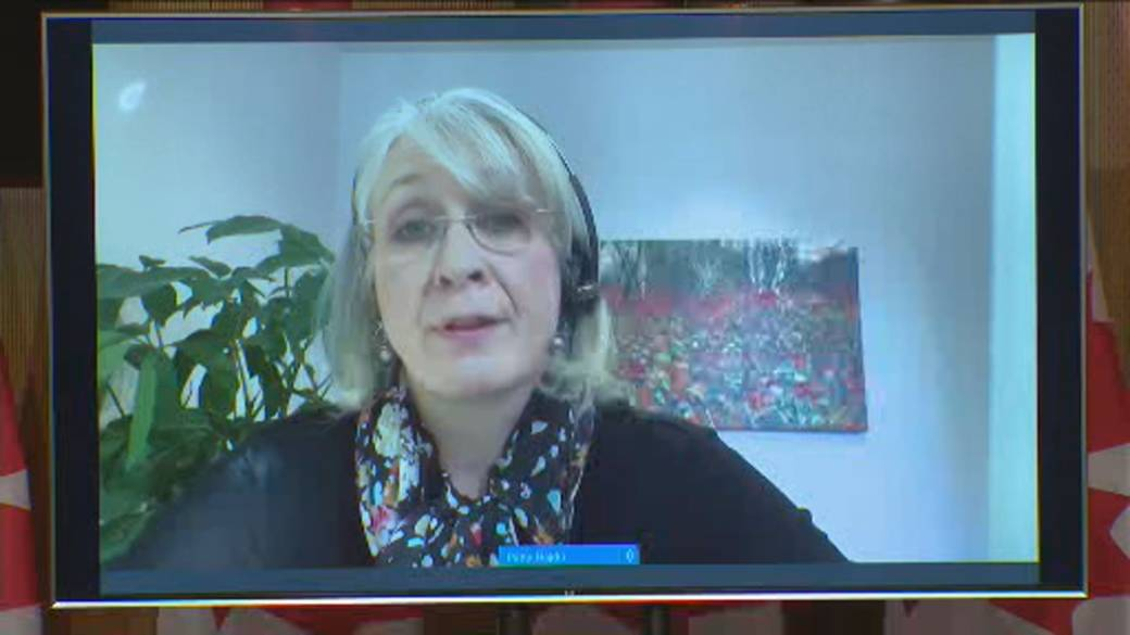 Click to play video: 'Canada's health minister says discussions on 'vaccine passports' with international partners ongoing'