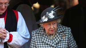 Queen Elizabeth attends first church service since Prince Harry, Meghan stepped away as working royals