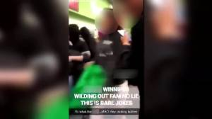 Tyndall Liquor Mart mob