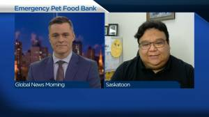 Saskatchewan SPCA opens emergency pet food bank (04:49)