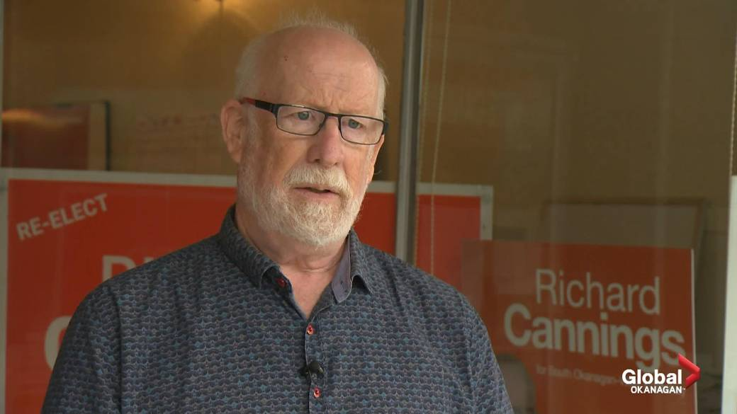 Click to play video: 'South Okanagan–West Kootenay 2021 NDP incumbent'