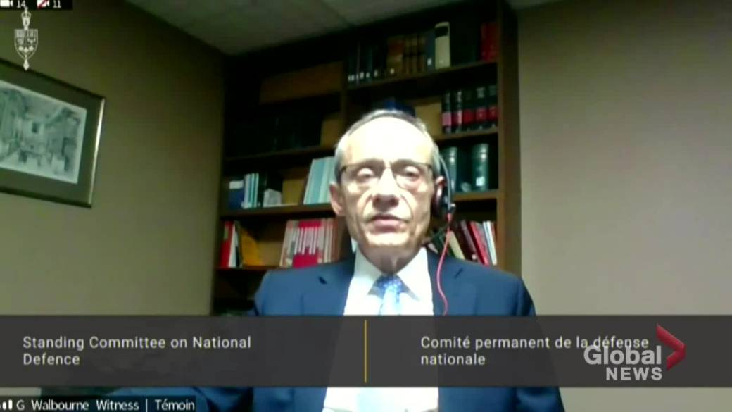 Click to play video 'Ex-military ombudsman says he didn't have the authority to launch formal probe into 2018 Vance allegation'