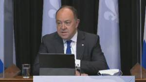 Quebec to open up vaccination for 18 to 34 age groups starting next Monday (01:15)