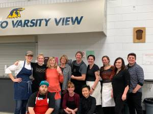 Charleswood residents share a meal while supporting  Winnipeg's Siloam Mission