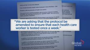 Coronavirus outbreak: Patient attendants want testing protocols at Montreal hospital to change
