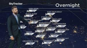 Global Edmonton weather forecast: August 6, 2021 (03:58)