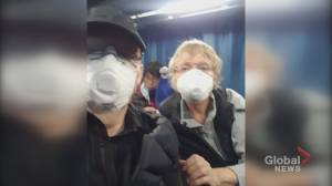 Fredericton couple released from quarantine on board the Diamond Princess are headed home to Canada