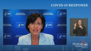 CDC director says she did not overrule advisory panel on COVID-19 booster shots (01:04)