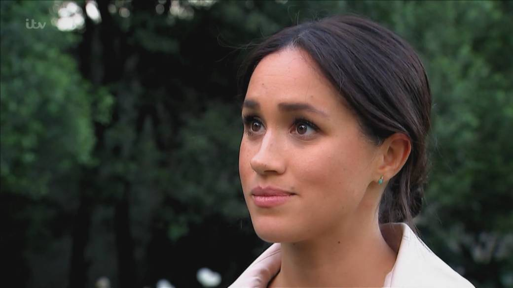 Click to play video 'Meghan Markle's opening up discussion around pregnancy loss'