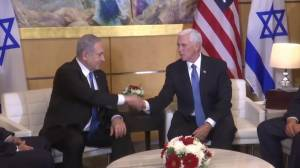 Netanyahu accepts invitation to discuss Mideast peace plan in Washington: Pence