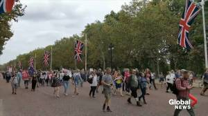 People protest in London against looming parliamentary shut down