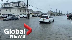 Tropical Storm Fay brings heavy winds, rain to New Jersey