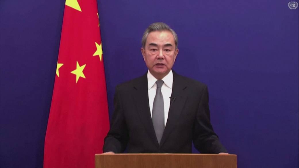 Click to play video 'China rejects genocide charge as countries condemn abuses against Uighurs'