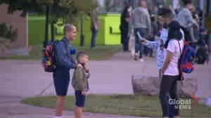 Students in York Catholic District School Board return to classroom (02:36)