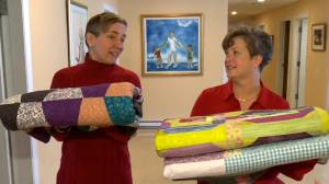Palliative care patients receive handmade quilts