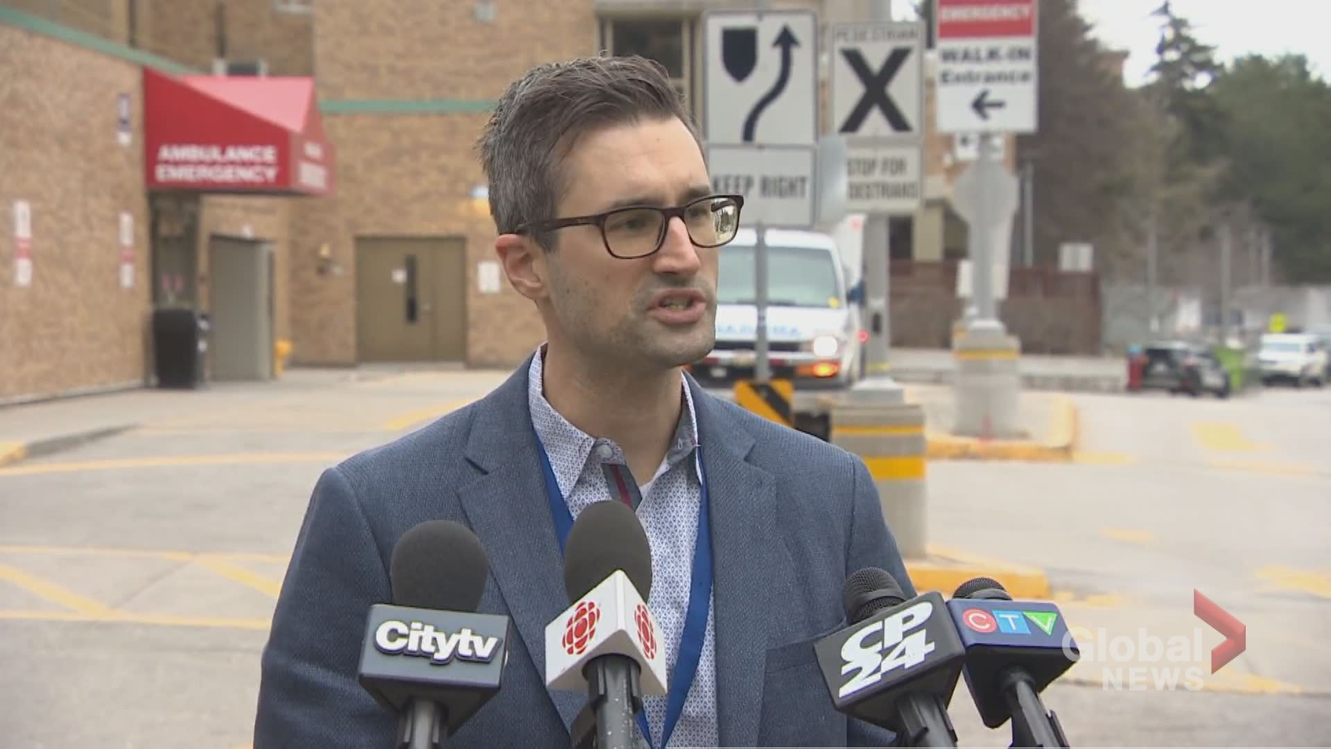 First point of contact for those concerned about infection should be Ontario Health: Sunnybrook