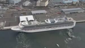 Third cruise ship under quarantine due to coronavirus