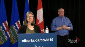 Hinshaw says COVID-19 decisions are 'complex' when discussing additional restrictions (01:08)