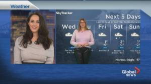 Global News Morning weather forecast: January 13, 2021 (01:15)