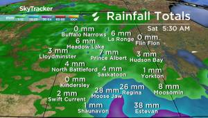 Saskatchewan weather outlook: rain continues across the province