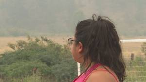 Cooler temperatures help wildfire fight but some continue aggressive behaviour (02:24)