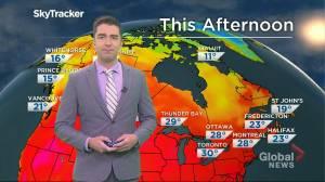 Saskatchewan weather outlook: July 26 (02:32)