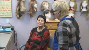 Cancer patients who lose all their hair while undergoing chemotherapy can access wigs at the Southern Interior Rotary Lodge in Kelowna (02:53)