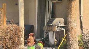 BBQ blamed for Kelowna condo building blaze (01:42)