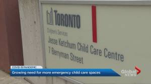 Coronavirus: 4 staff, 8-month-year-old test positive at Toronto child care facility