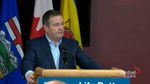 Kenney asked about how Facebook livestream was moderated