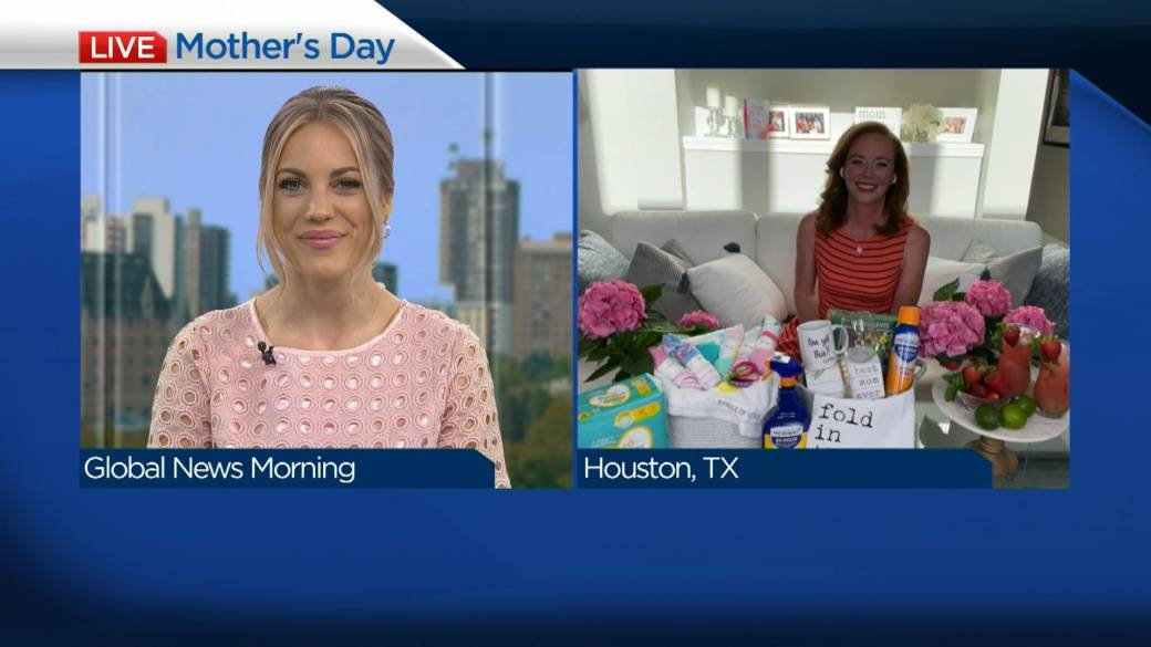 Click to play video: 'Supporting other moms ahead of Mother's Day'