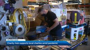 Kelowna's Charity Hub supports charities while helping businesses (01:51)