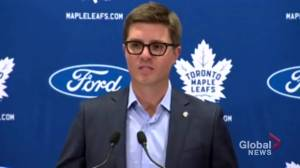 Toronto Maple Leafs GM Kyle Dubas provides update on injured players as hockey season approaches