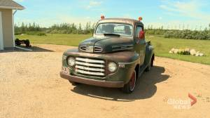 Saskatchewan man spends three years rebuilding 1949 Mercury