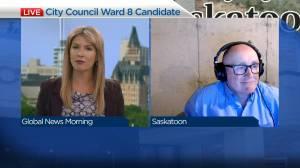 Saskatoon council candidate Brian Shalovelo