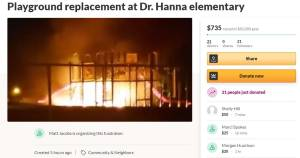 2 girls charged with arson in playground fire at Regina school (01:41)