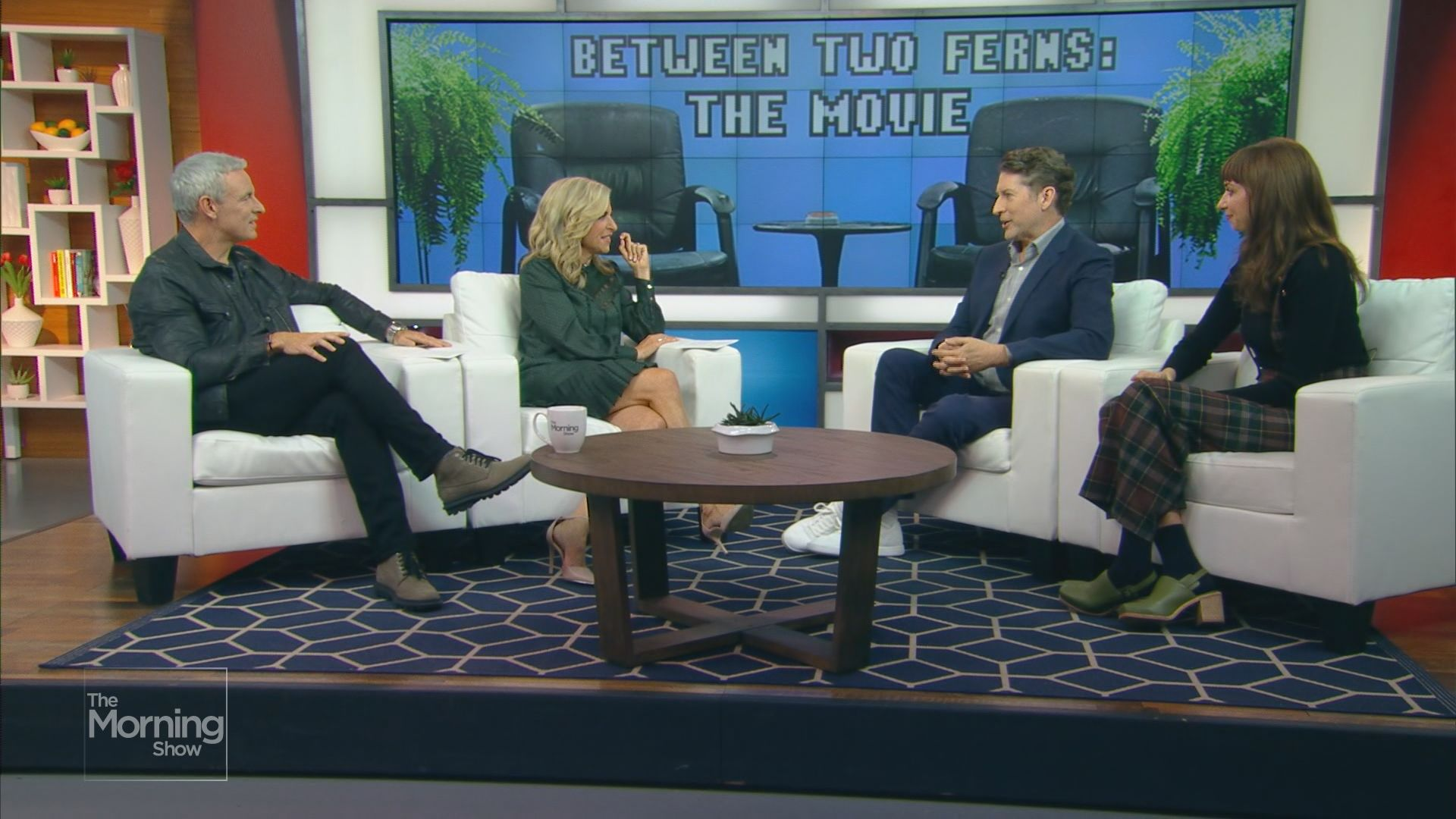 Who's in the 'Between Two Ferns' movie?