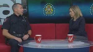 Calgary police chief Mark Neufeld weighs in on Pride crosswalk vandalism