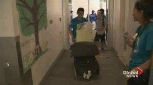 First year UBC students feel mixed emotions on move in day