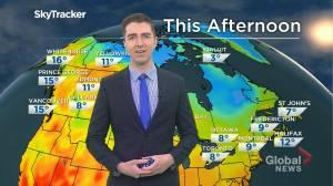 Saskatchewan weather outlook: May 12