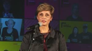 Calgary mayor-elect Jyoti Gondek speaks after historic win (06:49)