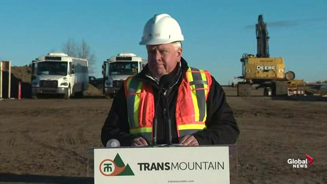 Pipe for Trans Mountain expansion project to be in the ground before Christmas: CEO