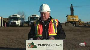 Trans Mountain CEO marks 'very important milestone' for pipeline expansion project