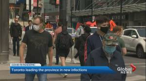 Reaction in Toronto to Ontario's 313 new COVID-19 cases